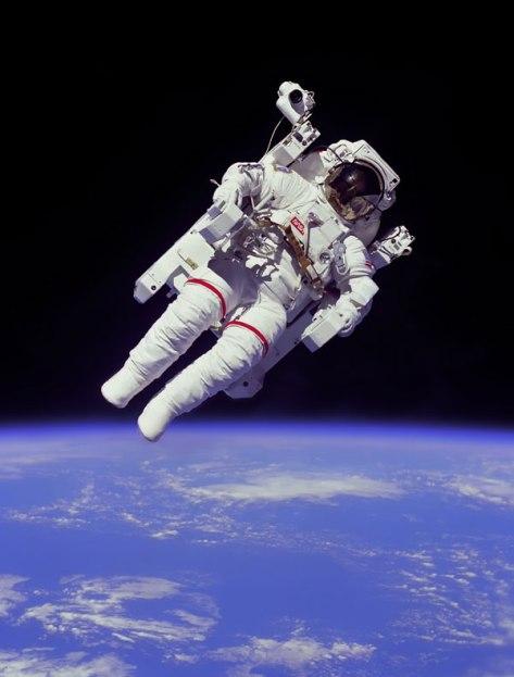 http://commons.wikimedia.org/wiki/File:Astronaut-EVA_edit.jpg