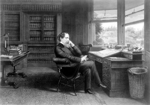 http://www.publicdomainpictures.net/view-image.php?image=76585&picture=charles-dickens-at-writing-desk